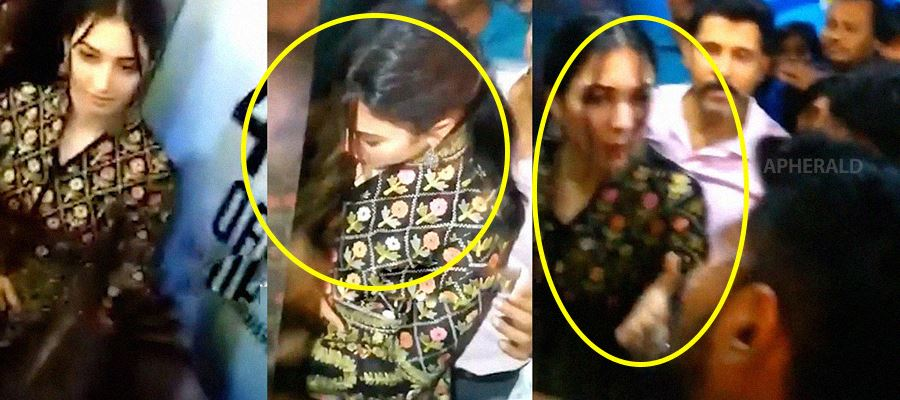 Have you noticed 'THIS' on Tamanna?