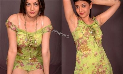 15 Years back, Kajal Aggarwal has posed Sensuous for a Photoshoot