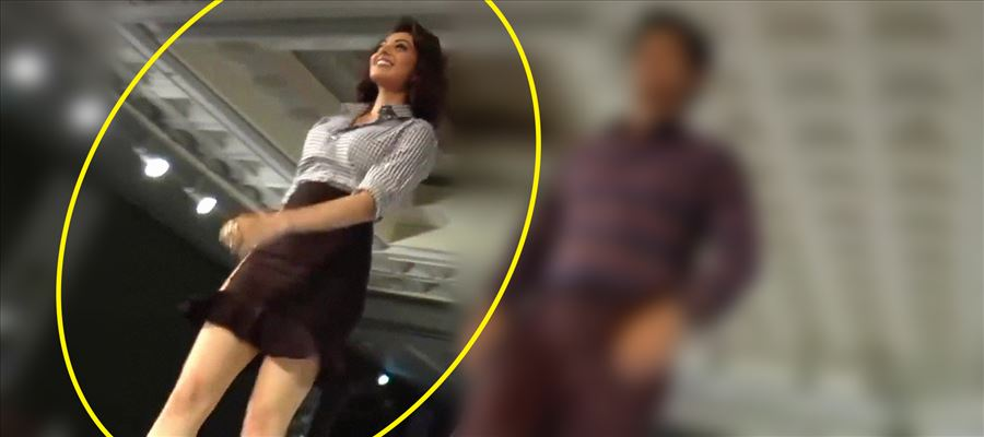 Kajal Aggarwal's Ramp Walk in a Short Frock goes Viral - For Obvious Reasons We can See !!
