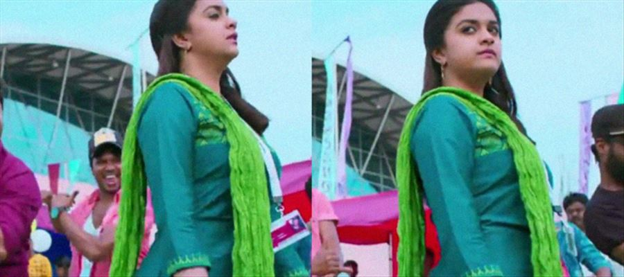 Oomph... Why Keerthy Suresh...? Just why so much..?
