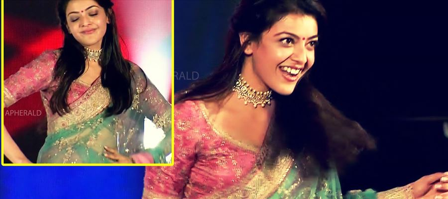 Kajal Aggarwal in Saree will make your Mood Ripple - Latest Tempting Photos in Saree Inside