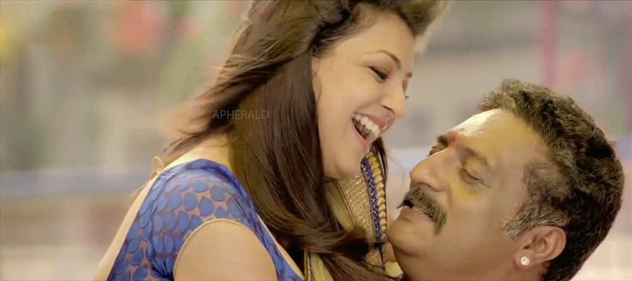 Kajal Aggarwal with a 53-Year-Old Actor !!