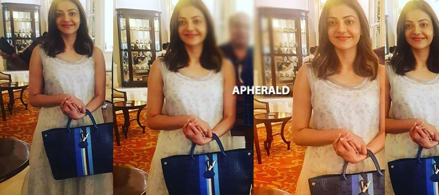 Fan gets 'MADLY EXCITED' on seeing KAJAL in a Plump Avatar in 5-Star Hotel and then 'HE DID THIS' - PHOTOS INSIDE