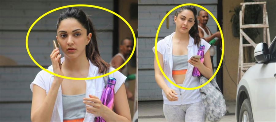 Kiara Advani walks out of the Gym and her fan just can't stop adoring her from 'BACK' - PHOTOS INSIDE