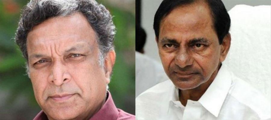 Veteran Actor watches Telangana CM KCR Videos on 'Repeated' mode - Why ??