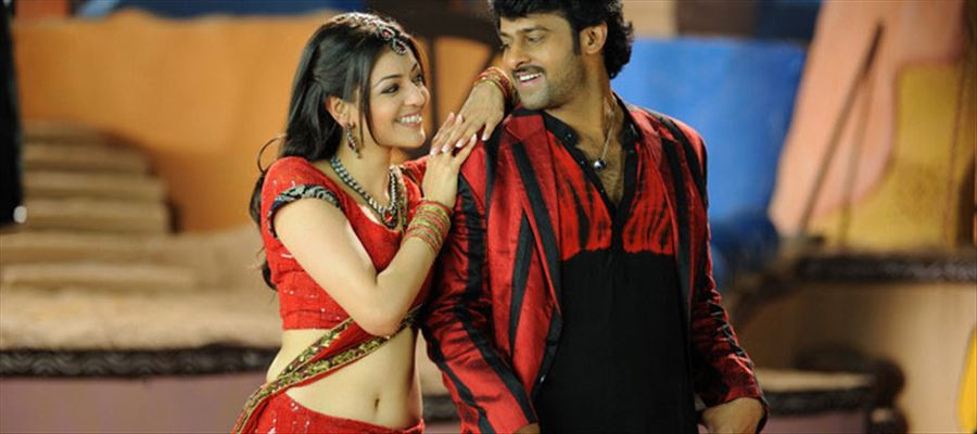 Prabhas with Sukumar and Kajal for his next