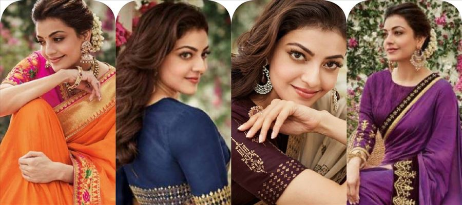 Kajal in saree is always a treat - 16 Not-to-be-missed Photos