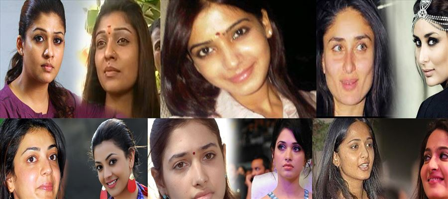 SHOCKING: Do you want to see Kollywood actresses without MAKEUP?