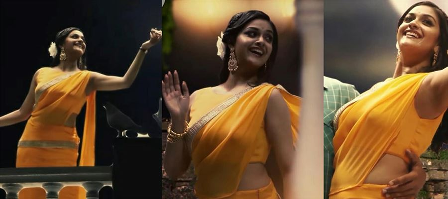 Who said Keerthi Suresh can't flaunt herself? See how she's dressed and flaunting...  11 Photos inside
