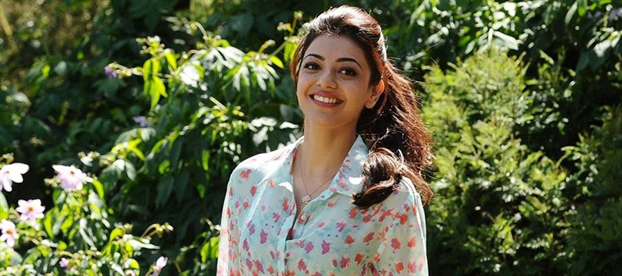 CAUGHT RED-HANDED: Kajal Aggarwal in a Transparent Top and Zero Makeup Face - Photo Inside