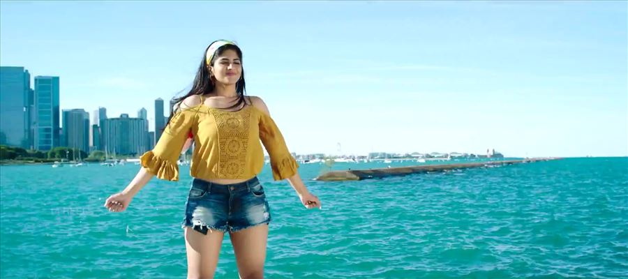 Megha Akash debut movie still in trouble