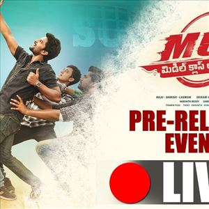 MCA Pre Release Event LIVE || Middle Class Abbayi