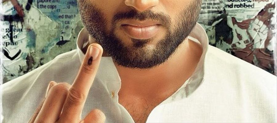 Hot Hero shows his Middle Finger against Politicians and giving a 'Hard Message' - Will it release without Troubles?