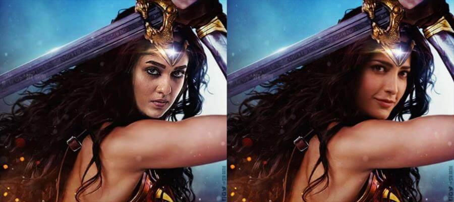 """SOUTH INDIAN VERSIONS of """"WONDER WOMAN"""" - Who's your Favourite ?"""