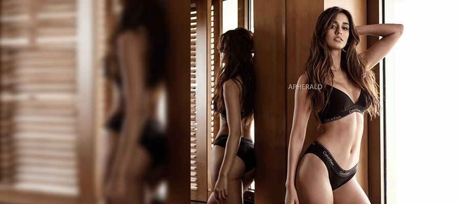 Disha Patani's Inner Wear Photoshoot for a new brand will make you sweat even in this cold weather - High Clarity Photos Inside