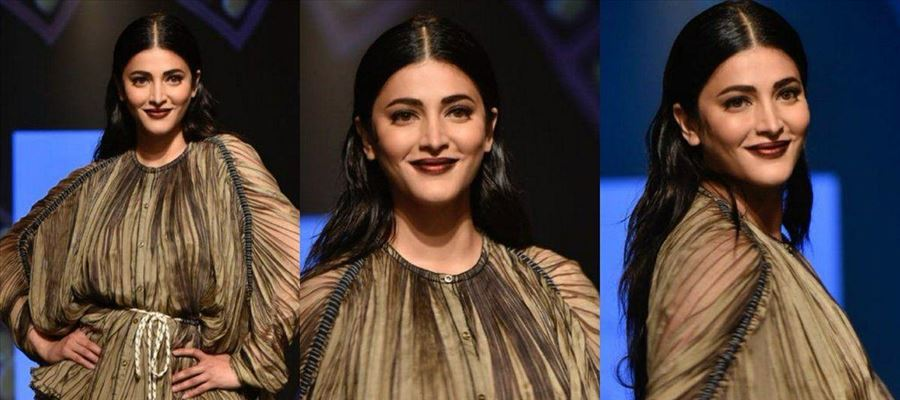 Shruti Haasan ready to sizzle the Ramp and ooze 'Oomph' all the way once again!
