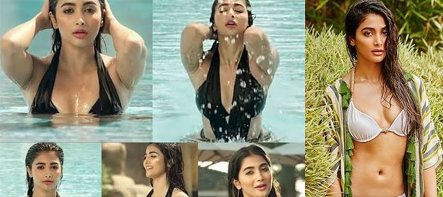When Pooja Hegde scorched the screens on fire with her first Bikini show On-Screen - 26 Hot Photos Inside