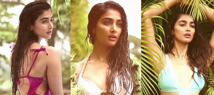 Take a BIG GULP... Because POOJA HEGDE HAS GONE BOLD BEFORE CAMERAS for REAL - HOT PHOTOS INSIDE