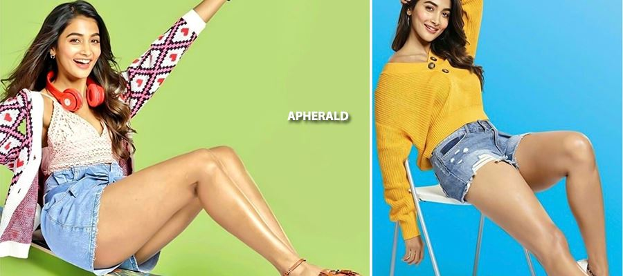 Take a BIG GULP... These Latest Photos of Pooja Hegde reveals her BIG THIGHS and TEMPTS YOU - ALL PHOTOS INSIDE
