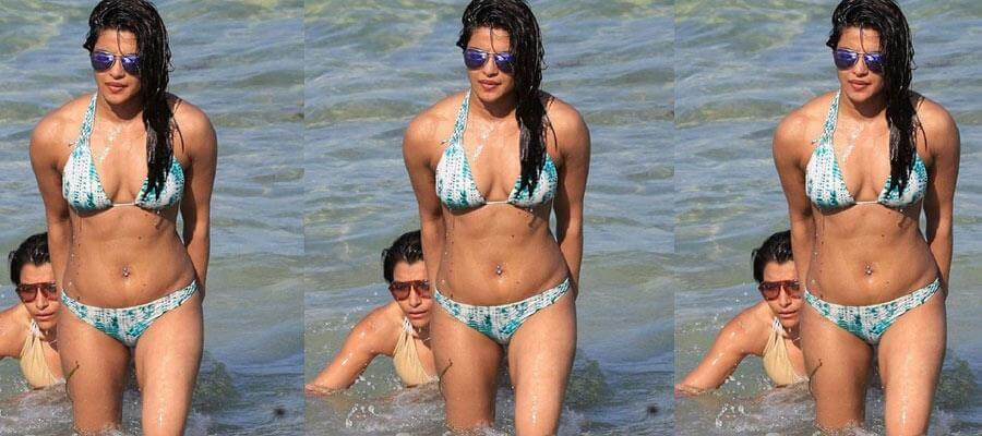 You just can't STOP ADMIRING and DROOLING on this HOT DUSKY BIKINI BODY !!!!