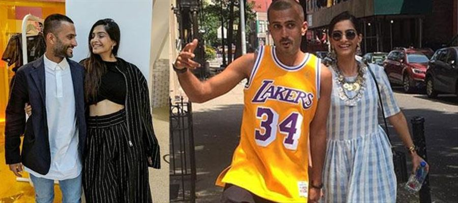 Long distance love of Sonam and Anand Ahuja