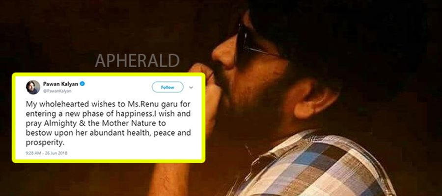 Will pawan go to renu's second marriage?