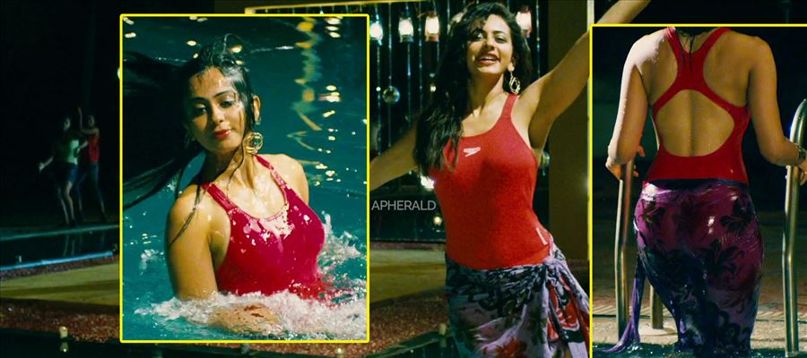A Hot Swim Suit Song sequence is shot with Rakul Preet