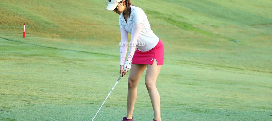 Rakul Preet wears Very Short and Tight Skirt while playing Golf and exposes her Sexy Thighs and 'Assets' - 21 HOT Photos Inside