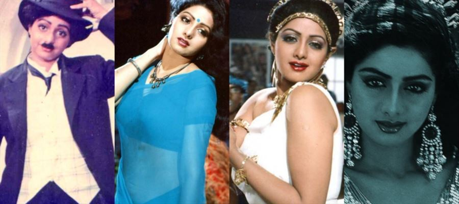 Remembering Sri Devi - 46 RARE PHOTOS of the Pan Indian Super Star