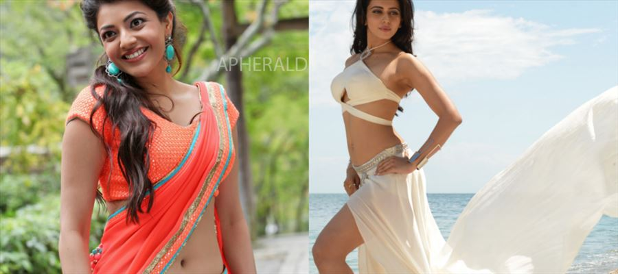 The Bonding between Rakul and Kajal