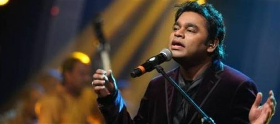 AR Rahman performed live at Audio launch for Mersel