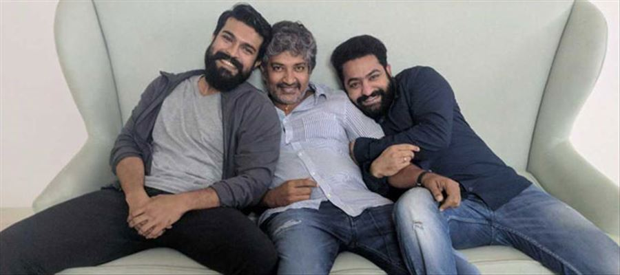 S.S.Rajamouli completes all Ground Work for #RRR - Shooting to begin from October