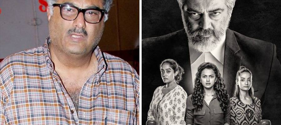 Boney Kapoor awestruck by Ajith's performance in 'PINK' remake - He wants Ajith to do a Hindi movie