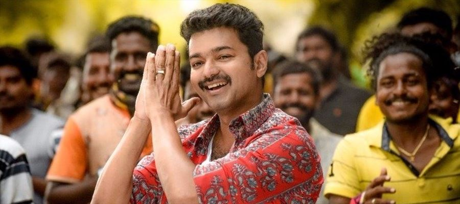 Vijay's Mersal at Europe's Biggest Theatre