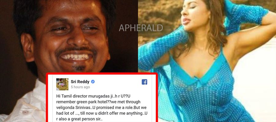 SHOCKING: Sri Reddy Reveals the Tamil Director Name who 'USED' her...