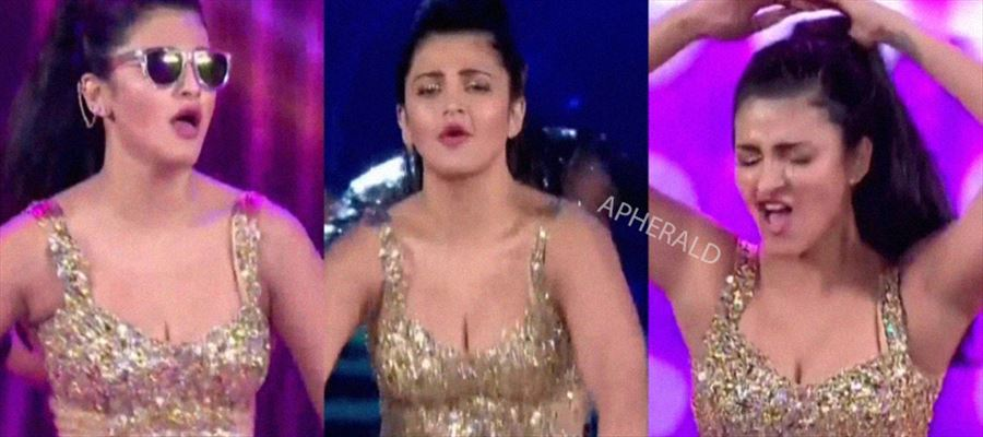 No Hot Dance of Shruti this time?