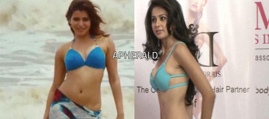 First Samantha, Now Rakul Preet - In Bikini...