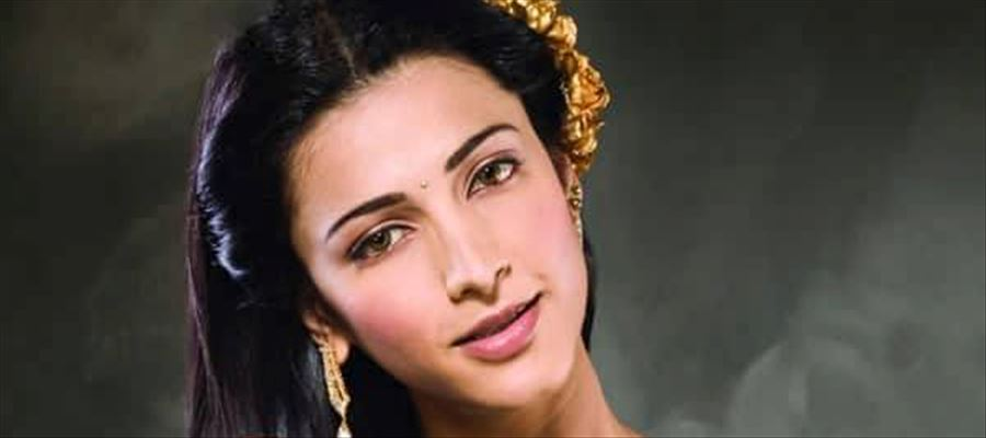 Well, this is really Shruti Haasan...