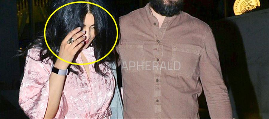 Shruti Haasan spotted with Michael - Photos Inside