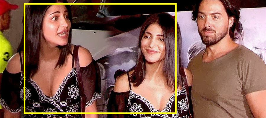 Oops... Shruti Haasan gets closer with her Boyfriend...