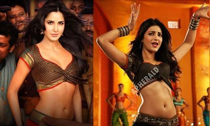 Which chick is Hotter and Tempts your Lust from within? Katrina Kaif or Shruti Haasan?