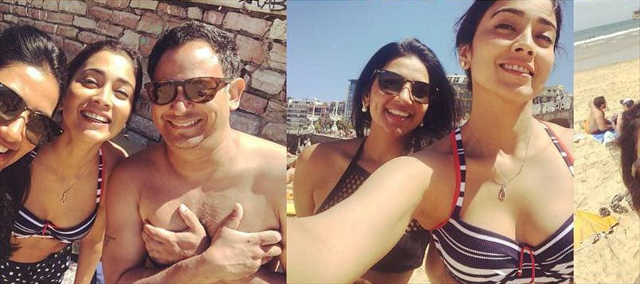 Shriya's Bikini treat Post-Marriage