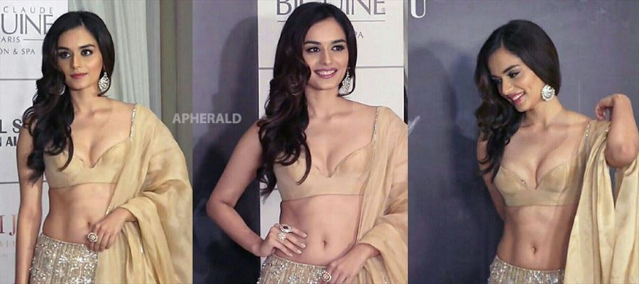 Miss World Beauty Manushi Chillar has EXPOSED A LOT in Public - PHOTOS PROOF INSIDE