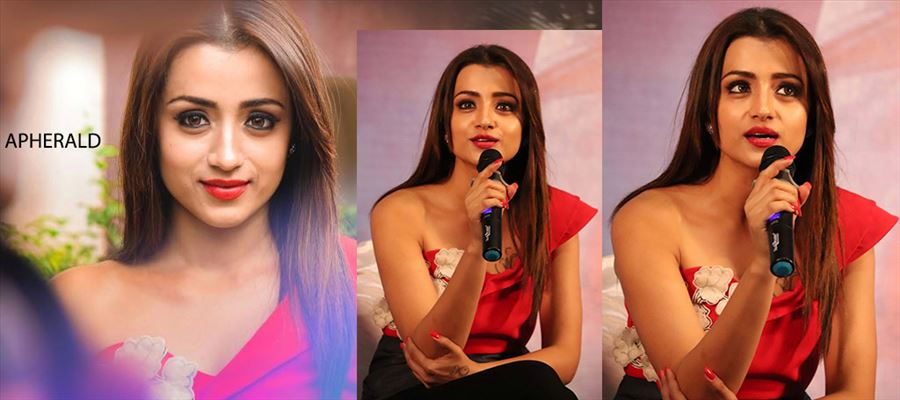 51 Hot Photos of Trisha - Can you guess what she's wearing? Pour your answers in comments box