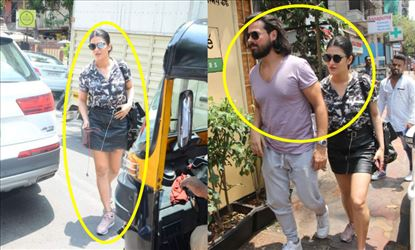 Shruti Haasan in Short Skirt revealing Thighs along with her Boyfriend Michael - Have you seen?