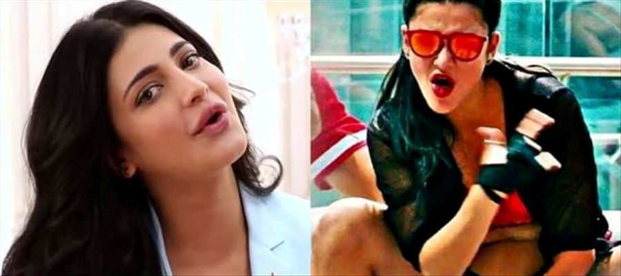 Shruti Haasan Sizzles with her Hot Tempting Looks, Maroon Lip-Stick, and 'Oomph' factor - 13 Latest Photos Inside