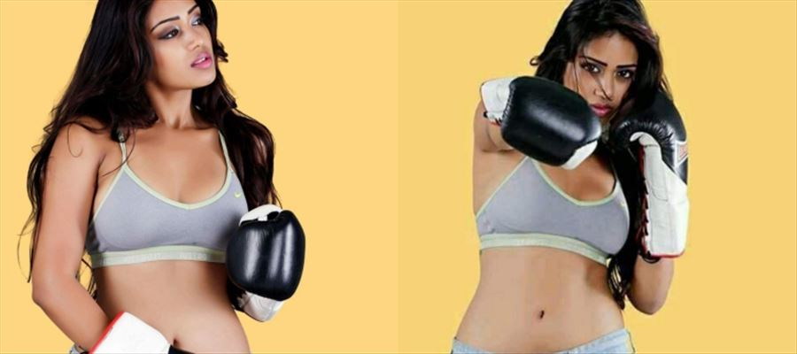 Nivetha's SEXY BOXING against all Odds - Photos inside
