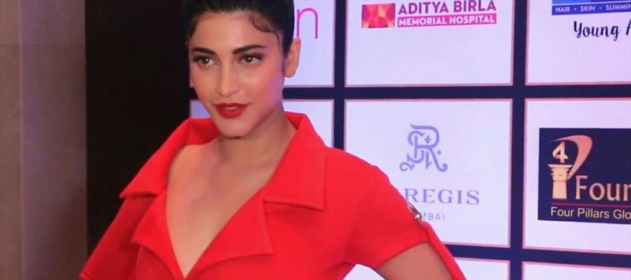 Did you missed Shruti Haasan? Here she is Again! All New 'Spicy Red Hot Avatar' - Check latest Photos