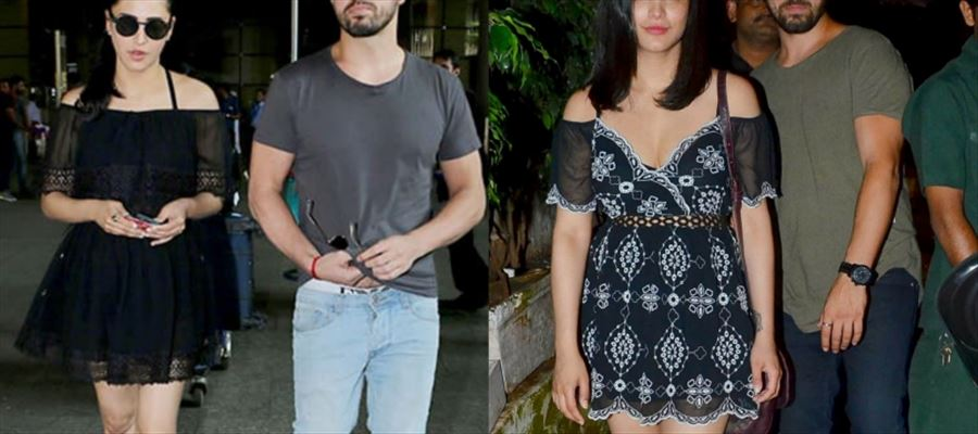 Ooh... Wow... Shruti Haasan's Thighs Revealing Short Frock presented by her Boyfriend for 'This' reason !!!
