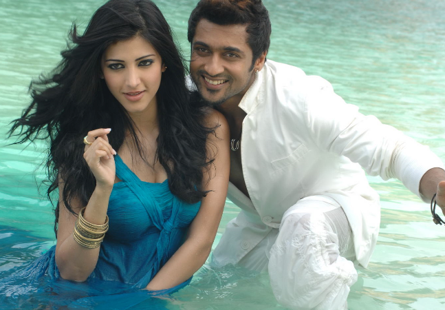 shruthi haasan to romance surya once again